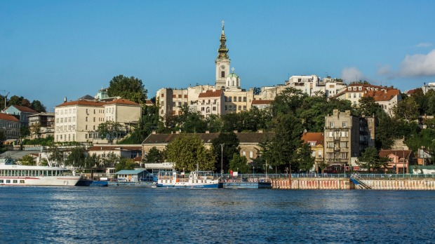Belgrade, Serbia: Its turbulent history is exemplified by its wind-buffeted, Ottoman-influenced citadel and some ...