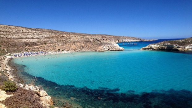 3: Rabbit Beach, Lampedusa, Italy.