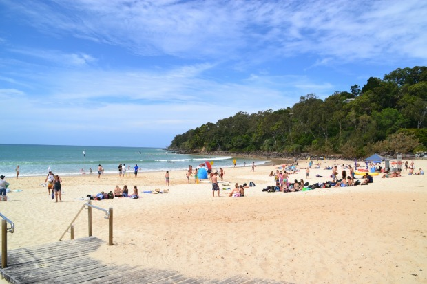 6: Noosa Beach, Sunshine Coast, Queensland.