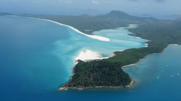 Top ten Australian beaches - 1: Whitehaven Beach, Whitsundays, Queensland.
