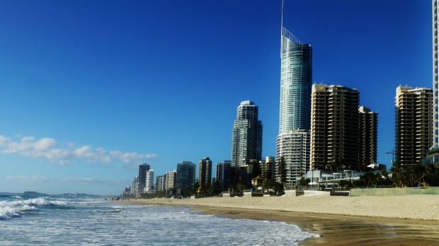 9. Surfer's Paradise, Gold Coast, Queensland.