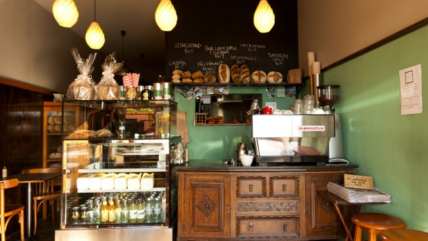 The Pigeon Hole Cafe in Hobart.