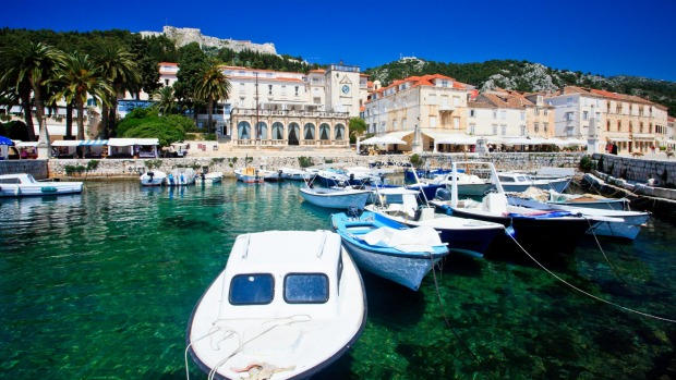 Hvar, Croatia: Hvar Town is full of scenic history.