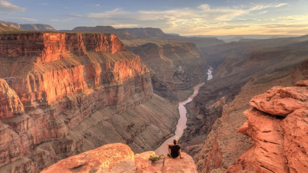 The well-named Grand Canyon.