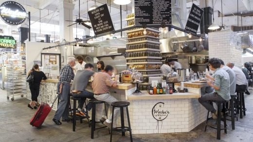 Wexler's Deli is one of the new eateries that have helped turn Los Angeles' dowdy and under-used Grand Central Market ...