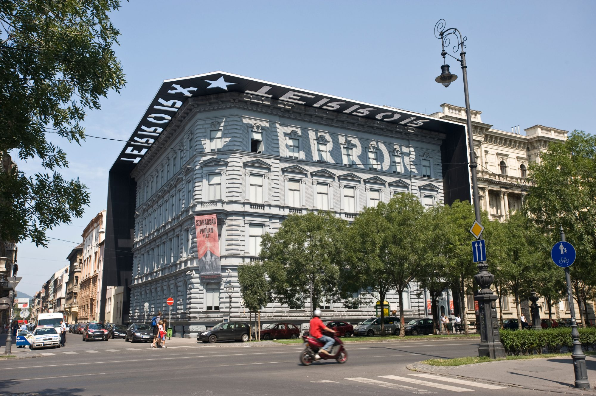 Horrors await: The House of Terror Museum, in Budapest gives a grim reminder of the country's past.