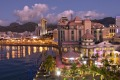 Port Louis – Night view, Mauritius.