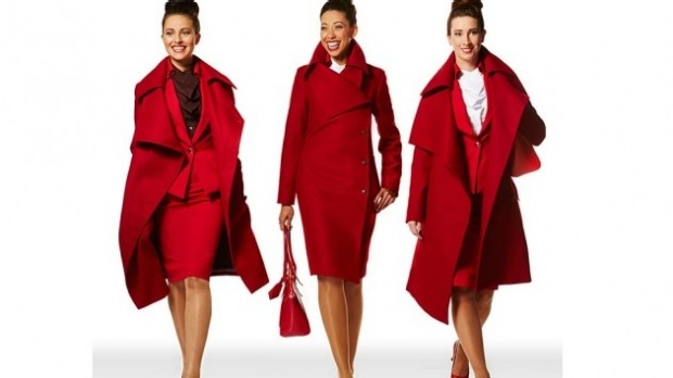 Virgin Atlantic's new Vivienne Westwood uniform collection.