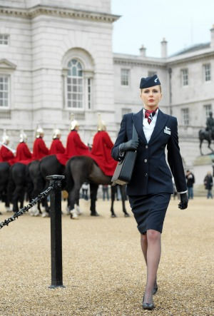 British Airways decided to allow female cabin crew staff to wear trousers in 2004 but now it says only skirts are allowed.