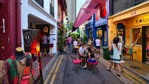 Haji Lane: This small lane in the Arab Quarter is the antidote to high-street fashion.