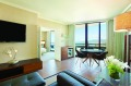 Airy: My Ocean Tower suite offers plenty of space and a distinctly uncluttered atmosphere.