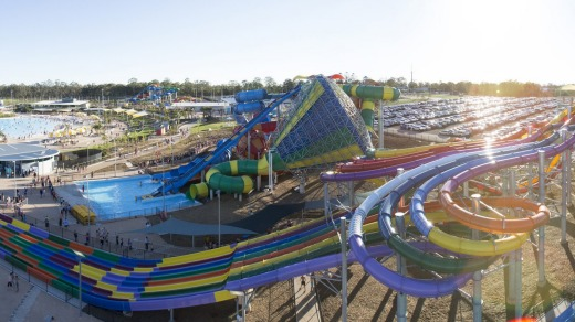 Water rush: There are attractions galore at Wet'n'Wild Sydney.