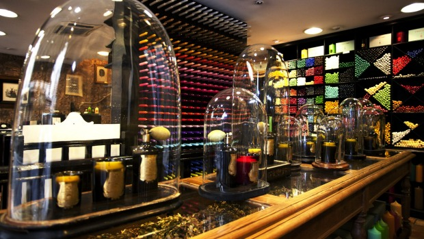 Cire Trudon at 78 rue de Seine specialises in candles.