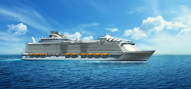 Harmony of the Seas will make its maiden voyage in April 2016.