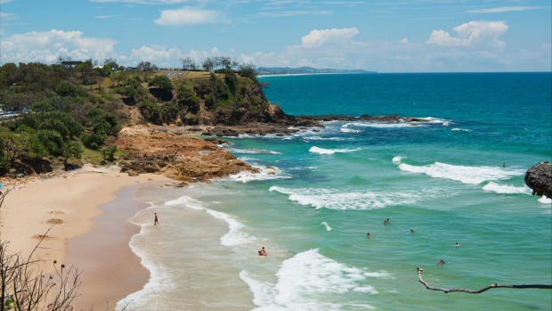 Coolum Beach on Queensland's Sunshine Coast - best between May and December.