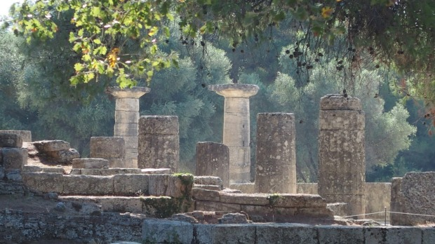 I would like to enter the third 'Big Picture' contest with this photo taken at Ancient Olympia Greece in September 2014 ...