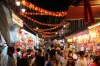 I took this photo of Singapore's Chinatown in February 2015, during the lead-up to Chinese New Year. Crowds surged ...