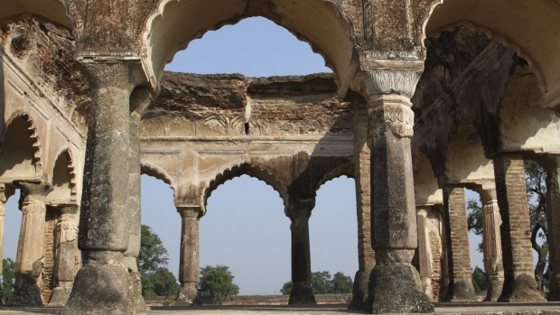 Mogul Queen Mumtaz Mahal's first resting place after death in Burhanpur, India. Mahal's husband, Emperor Shah Jahan, had ...