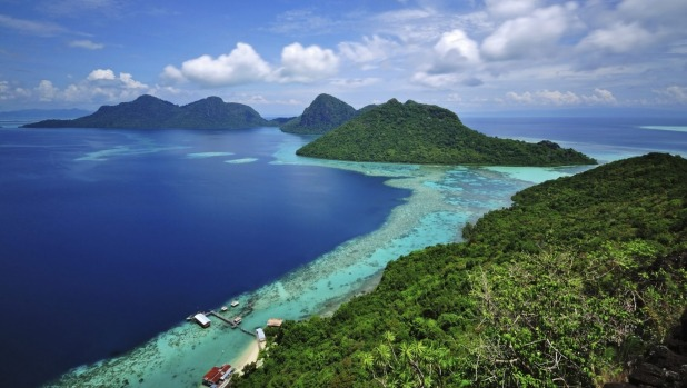 Beauty meets conservation on the tropical islands off the coast of Borneo.