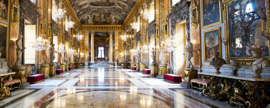 The glorious Palazzo Colonna, in Rome.
