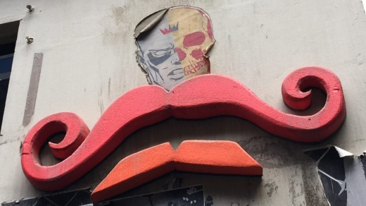 Art abounds in Melbourne's lanes.