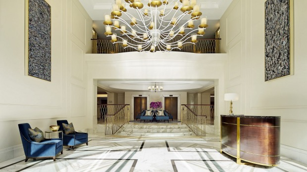 Elegant: The Langham hotel in Sydney.