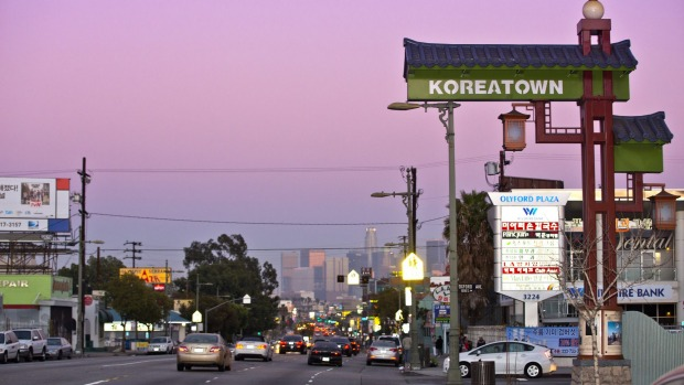 Los Angeles' Koreatown: K is for cool