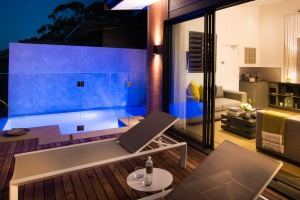Recently Gaia Retreat and Spa opened three new Komala Villas with saltwater infinity plunge pools.