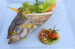 Fruits of the sea ... a wealth of fresh ingredients go into fine dining in Tahiti.