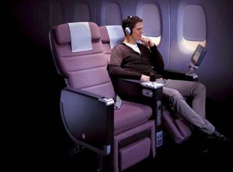 The new business class? Qantas premium economy.