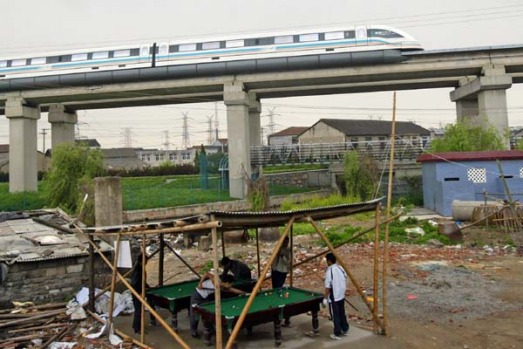 Shanghai runs two Maglevs on parallel tracks. Construction began in March 2001 and the first trip for passengers took ...