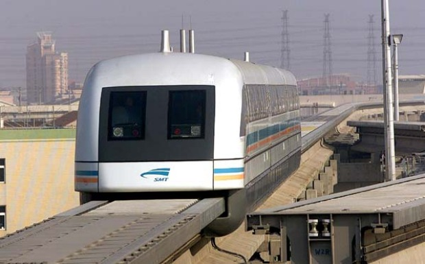 THE FASTEST TRAIN JOURNEY IN THE WORLD: MagLev technology is one of the systems under consideration as China builds one ...