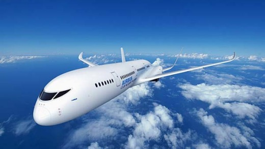 Airbus has speculated it could one day create a plane that has fuselage which turns transparent during flight.