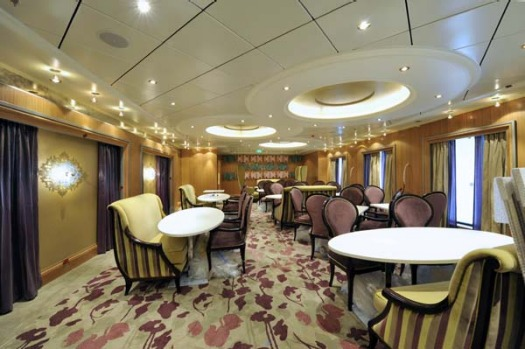 One of Allure of the Seas' 24 restaurants on board.