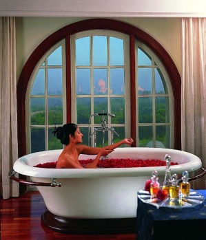 The spa offers Ayurvedic therapies, massage and beauty treatments along with conventional gym facilities. Even the spa ...