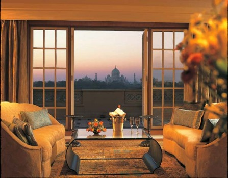 Just 600m from the Taj, the Oberoi Amarvilas spreads over nearly four hectares, containing pavilions, elaborate gardens, ...