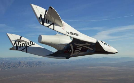 Virgin Galactic?s space tourism rocket SpaceShipTwo has made its first solo glide flight.