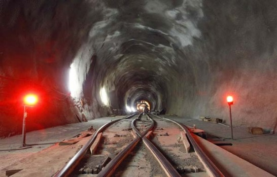 Eight of some 2500 tunnel workers have died since construction of the new railway link began in central Switzerland 15 ...