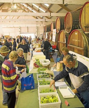 The food heritage and culture of the Barossa are easy to find at the farmers market.