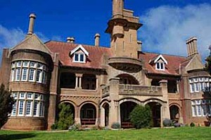 Incredible Iandra ... the castle is a fascinating oddity in the western NSW wheat fields.