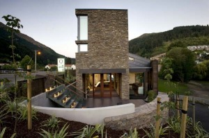 Bold ... the Queenstown Park Boutique Hotel.