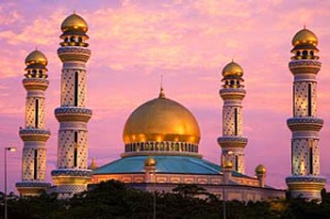 Riches galore ... Bolkiah Mosque.