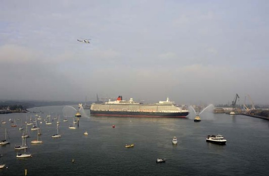 The current queen's mother launched the first ocean liner to bear the name Queen Elizabeth in 1938. In 1967, the queen ...