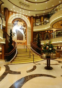 Fans of art deco will be in dreamland as the sunlight filters through coloured windows and bounces off the big, bold ...