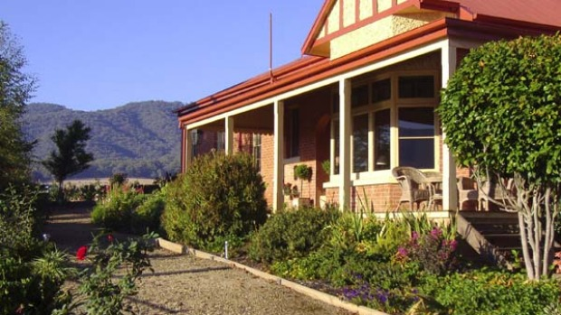 Understated luxury ... Homestead Estate near Myrtleford.