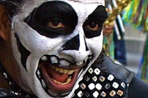 Mexico day of the dead.