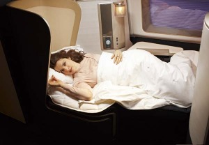 British Airways' new first-class product.