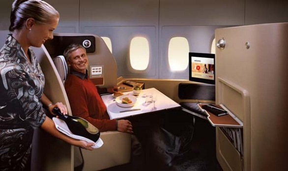 Qantas is eliminating first-class service on most of its long-haul flights except for a few flagship routes to Los ...
