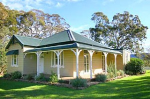 Spacious ... the weatherboard cottage was renovated two years ago.