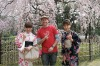 Fluking cherry blossom season in Kyoto, Japan. Cherry blossoms only appear for about three weeks a year. I didn't know ...